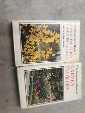 Vinatge Observer Books Flowering Trees And Shrubs And Garden Flowers