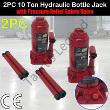 2x 10 Ton Hydraulic Bottle Jack Car Van Truck Caravan 4WD Lift -German Standard