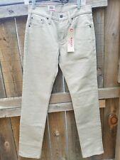 NEW NWT - LEVI 511 Khaki Tan Slim Stretch Jeans 29x32