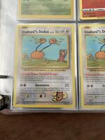 Imakuni's Doduo Card 112/108 - Secret Rare! NM Evolutions - Funniest Card Ever!!
