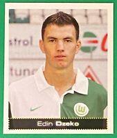 #491 Edin DZEKO ROOKIE VfL Wolfsburg 2007 Panini Germany Football Bundesliga