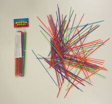 10 SETS OF NEW PLASTIC PICK UP STICKS  PICK-UP STIX GAME TOY PARTY FAVORS