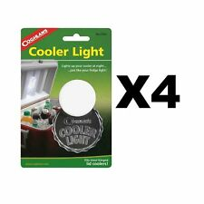 Coghlan's Cooler Light LED Auto-On Lamp for Toolbox Ice Chest Tacklebox (4-Pack)