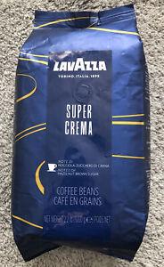 LavAzza Super Crema Espresso Whole Bean Coffee - 2.2 lbs. Exp. 02/2022