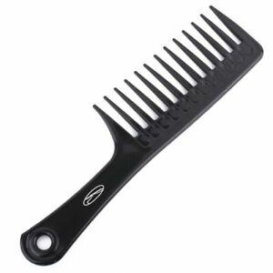Fine Lines 104-01 Unisex Wide Tooth Rake Handle Comb - Black (5060065131373)