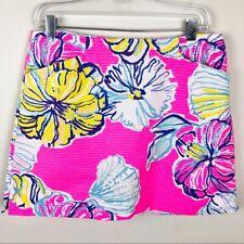 Lilly Pulitzer Pink Marigold Skort skirt size 2