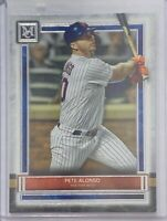 PETE ALONSO 2020 TOPPS MUSEUM COLLECTION CARD #52 NEW YORK METS MLB NY
