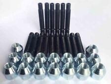 M12 x 1.25 68mm Stud Conversion Kit for Fiat Inc Nuts (Silver)