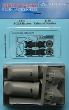 Aires 1/48 F-22A Raptor Exhaust Nozzles for Academy kit # 4430