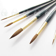 Pro Arte Artists Renaissance Pure Sable 5 Brush Set B. Watercolour,Gouache,Inks