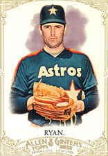 "2012  ""ALLEN & GINTER""  SHORT PRINT  #345  NOLAN RYAN"