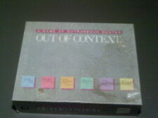 OUT OF CONTEXT 1985 Board Game / A Game Of Outrageous Quotes