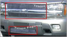 2002-2005 Chevy Trailblazer Billet Grille-Combo 2004