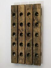 Wine Riddling Rack Distressed Wood Winerack