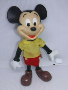 VINTAGE 1960S MICKEY MOUSE FIGURE WALT DISNEY PRODUCTIONS MADE IN HONG KONG L@@K