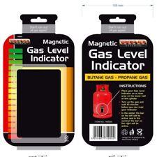 Calor LPG Magnético Camping Casa calibre Indicador de nivel de botella de gas propano butano