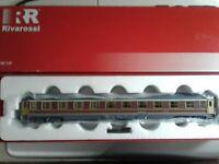 RIVAROSSI HR4119  Tipo UIC-X 1982  Rosso fegato/grigio beige 1à Classe FS