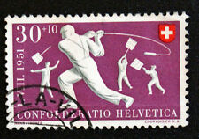 Timbre SUISSE - Stamp SWITZERLAND - Yvert et Tellier n°500 (d) obl (Cyn16)