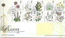 GB - FIRST DAY COVER - FDC - COMMEMS -2009-  PLANTS - Pmk KEW, RICHMOND