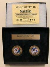 (Lot of 2) Ken Griffey Jr. Bronze Coin Highland Mint Collection #'d 2242