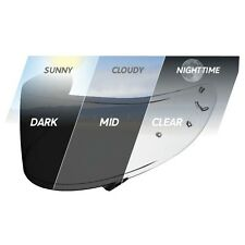 SHOEI Photochromic Transitions Visor Cwr-1 With Pinlock Pins