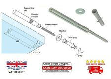CONCEALED HIDDEN SHELF SUPPORT BRACKETS FIXING MOUNT 120mm FOR FLOATING SHELVES