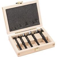 BOSCH Forstner Hinge Hole Boring Cutter Wood Drill Bit Set 15,20,25,30,35 mm