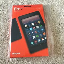 "Amazon Fire 7 Tablet E-Reader with Alexa, 7"" Display, 8 GB – Black"