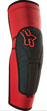 FOX RACING RED LAUNCH ENDURO MTB ELBOW PADS GUARDS DOWNHILL TRAIL FR DH S M L