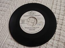 JIVIN GENE  BREAKING UP IS HARD TO DO/MY NEED FOR LOVE MERCURY 71485 PROMO