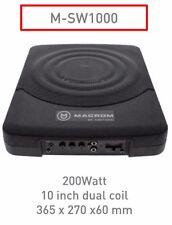 """Macrom M-SW1000 Subwoofer compatto 10"""" dual coil - 200W  Nuovo imballato"""