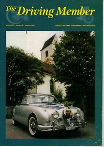 The Driving Member Journal Of Daimler & Lanchester Owners Club January 1997