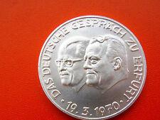 *Silbermedaille ca.25 g. (1000)*Das Deutsche Gespräch zu Erfurt