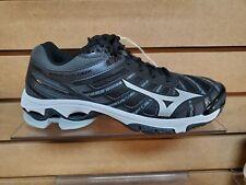 Women's Mizuno Wave Voltage Volleyball Shoe (430269.9073) Black/White Brand New