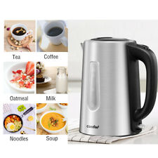 Comfee 1.7L Premium 304 Food Grade Stainless Steel Cordless Electric Kettle