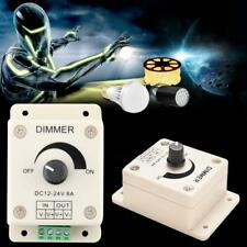 DC 12V 8A Light Dimmer Brightness Adjustable Control For Single LED Lamp Strip