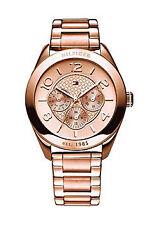 Tommy Hilfiger Armbanduhren aus Edelstahl mit Datumsanzeige für Damen