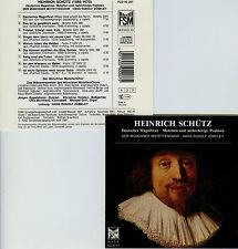 HEINRICH SCHUTZ deutsches magnificat-motets H.R.ZOBELEY