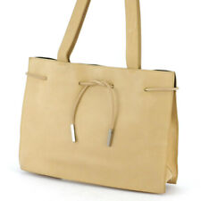 Gucci tote bag beige leather Auth used T16869