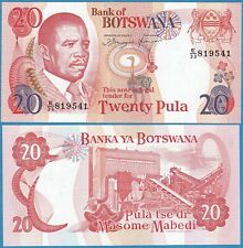 BOTSWANA ND(1993) 20 PULA P-13 Sig#6a GEM UNC  - US Seller