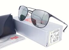 Ray Ban SIGNET Sunglasses RB3429M 002/40 Black frame with Silver Mirrored lenses