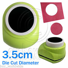 Big Circle Hole Dot Round Paper Scrap Craft Punch Scrapbooking Die Cutter 3.5cm