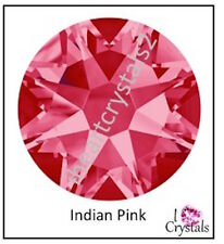 INDIAN PINK 20ss 5mm 36 pieces Swarovski Crystal Flatback Rhinestones 2088