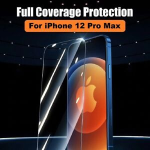 5D Full Coverage REAL Tempered Glass Screen Protector for iPhone 12 PRO MAX