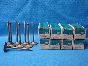 1957 - 1966 Chevrolet Truck 283 292 327 Intake Valve Set 8 Pickup GM 3819002 NOS