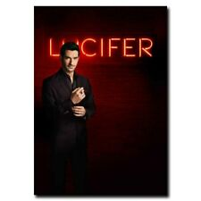 Lucifer Tom Ellis 24x36inch TV Shows Silk Poster Hot Wall Decoration Large Size