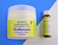 Molluscum Thuja Warts Homeopathy Cream Remedy Kit Children Adults