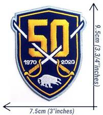 Buffalo Sabres 50th Hockey NHL Sport Patch Logo Embroidery Iron,Sewing on Fabric