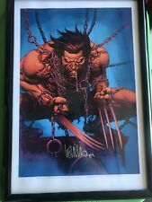 "WOLVERINE CON EXCLUSIVE ART PRINT  - LEINIL YU & LAURA MARTIN SIGNED 13""x19"""