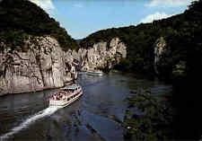 Schiffe Binnenschiffe Fluss Schiff Fahrgastschiff Donau bei Kloster Weltenburg